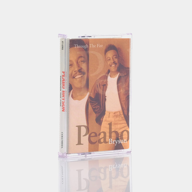 Peabo Bryson - Through The Fire (1994) Cassette Tape