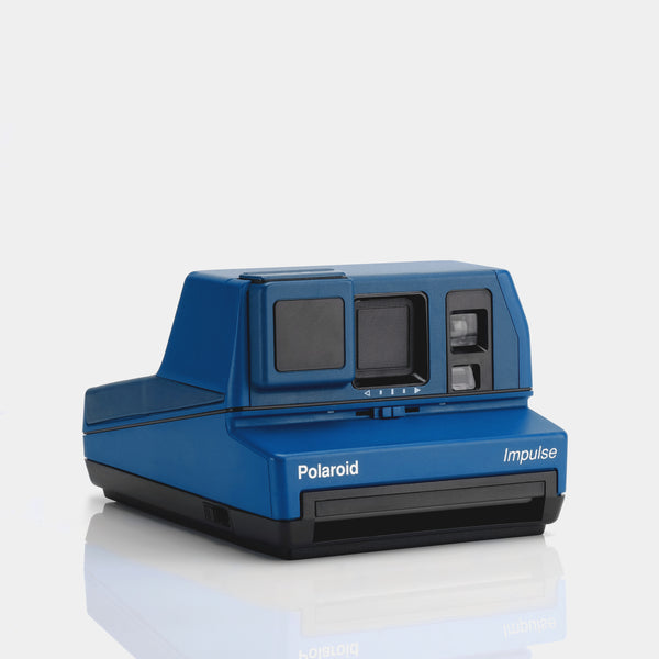 Polaroid 600 Impulse Blue Instant Film Camera