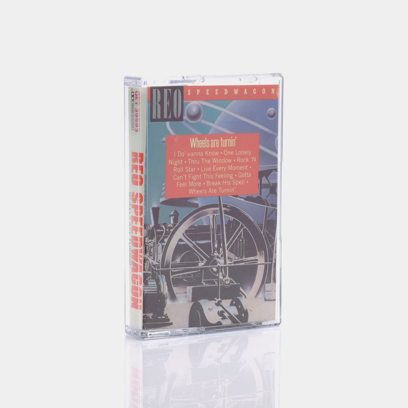 REO Speedwagon - Wheels Are Turnin' (1984) Cassette Tape