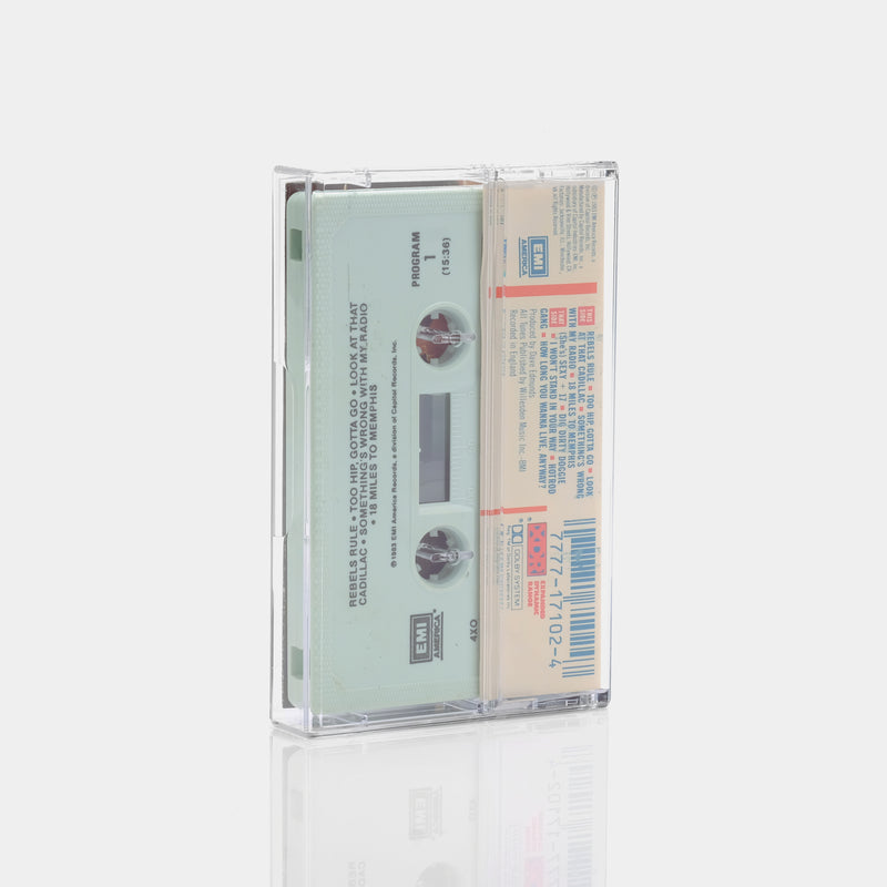 Stray Cats - Rant N' Rave With The Stray Cats (1983) Cassette Tape