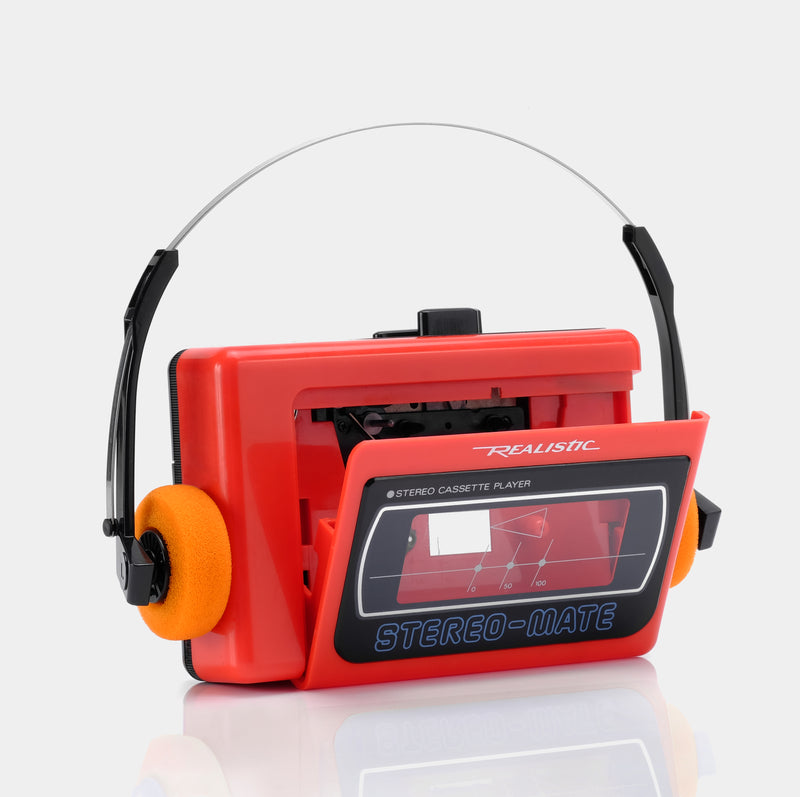 Realistic SCP-28 Stereo-Mate Portable Cassette Player