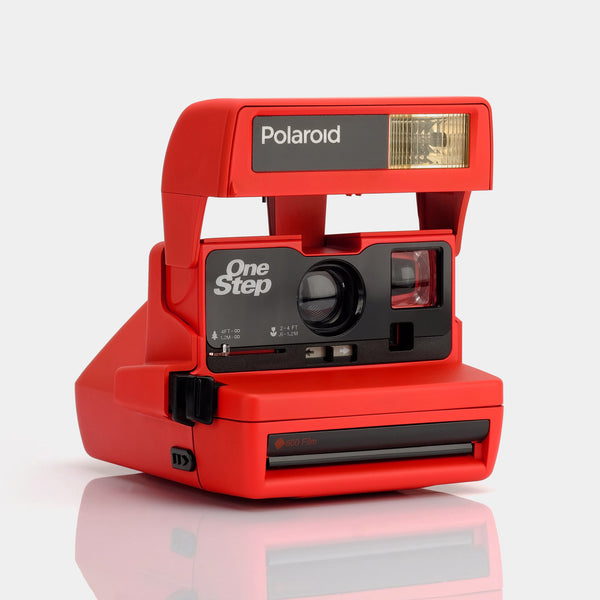 Polaroid Red One Step 600 Camera