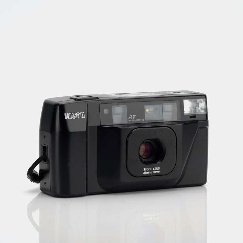Ricoh Shotmaster Dual 35mm Point and Shoot Film Camera