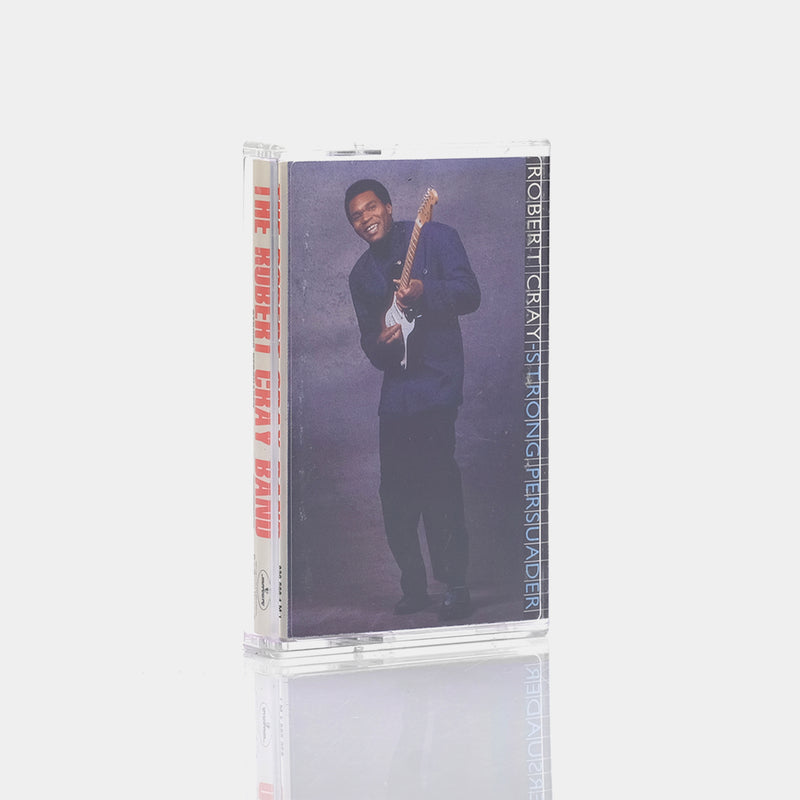 The Robert Cray Band - Strong Persuader (1986) Cassette Tape