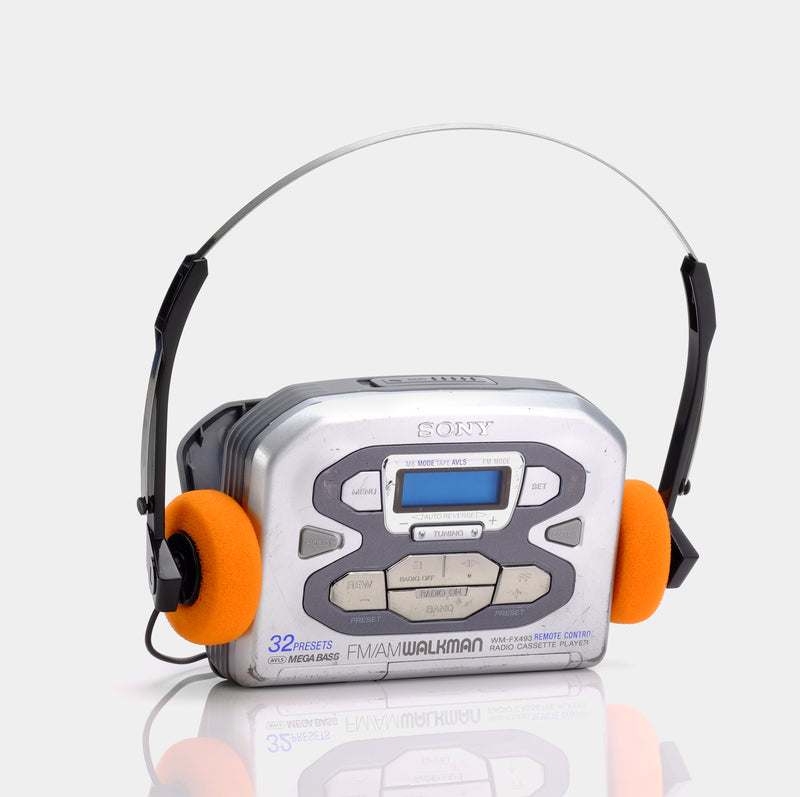Sony Walkman WM-FX493 AM/FM Portable Cassette Player