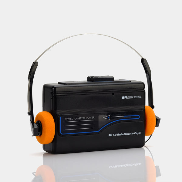 SR 2000 Series AM/FM Portable Cassette Player