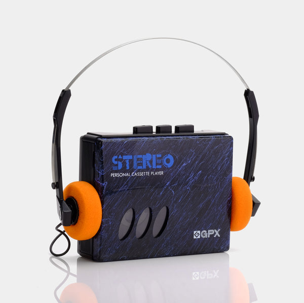 GPX STEREO Portable Cassette Player