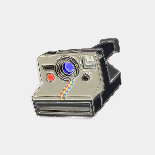 Polaroid SX-70 Camera Enamel Pin
