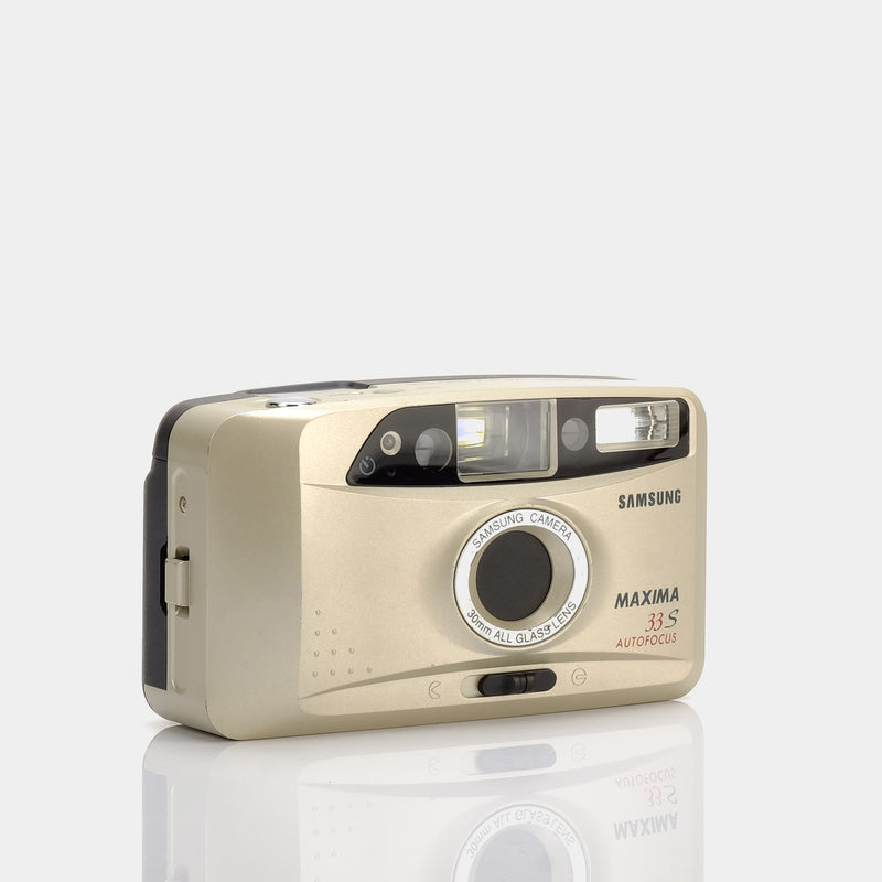 Samsung Maxima 33S 35mm Point and Shoot Film Camera