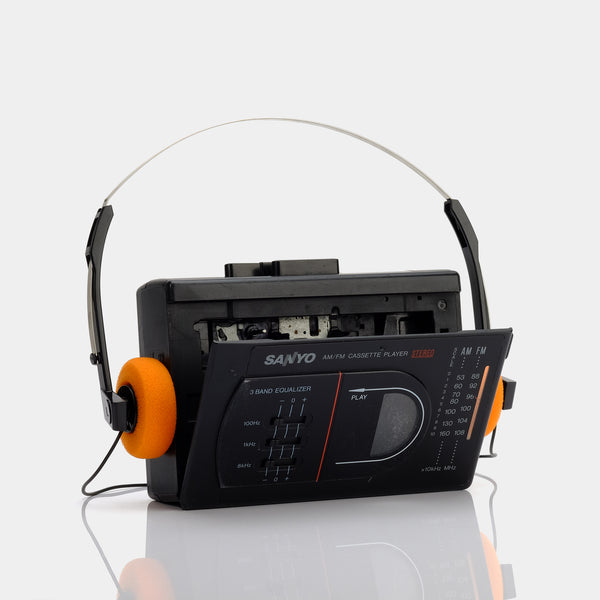 Sanyo MGR78 AM/FM Portable Cassette Player