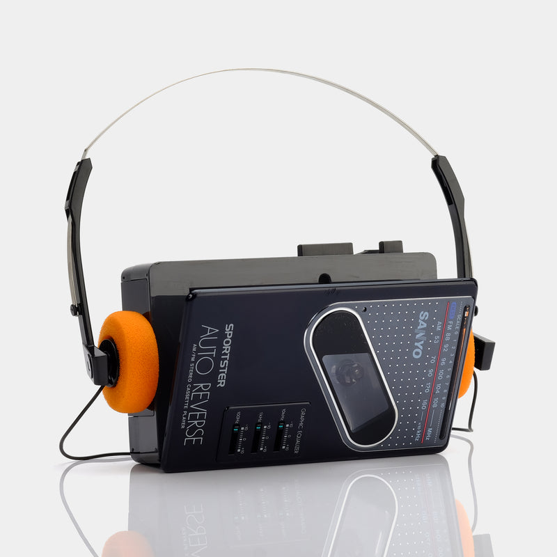 Sanyo Sportster MGR87 AM/FM Portable Cassette Player