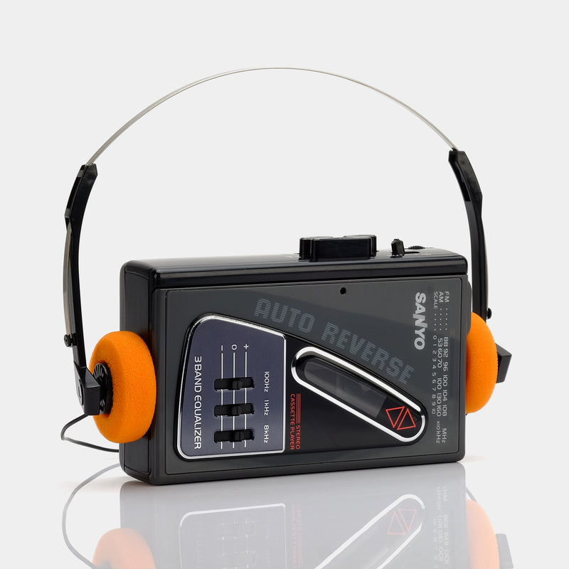 Sanyo MGR84 AM/FM Portable Cassette Player