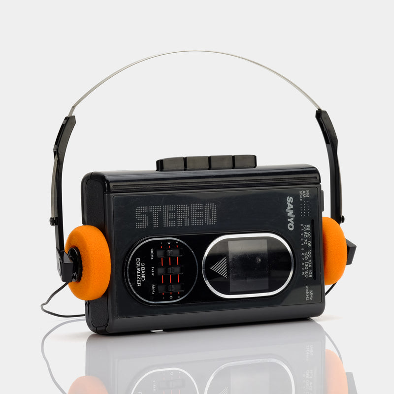 Sanyo Stereo AM/FM Portable Cassette Player