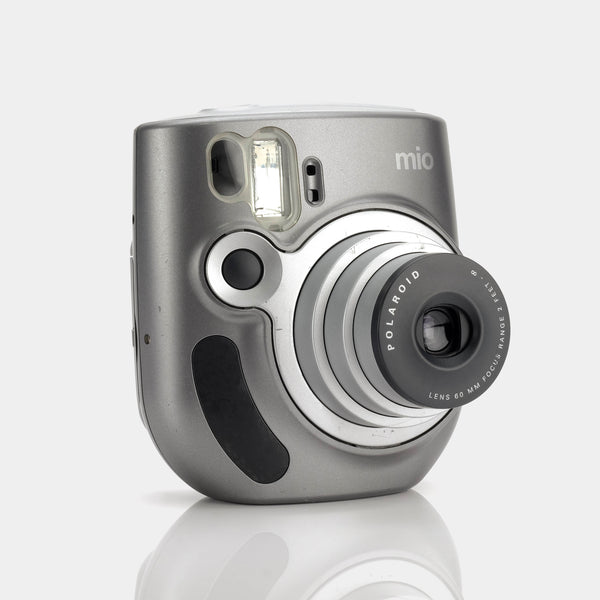 Polaroid Mio Silver Instax Mini Instant Film Camera