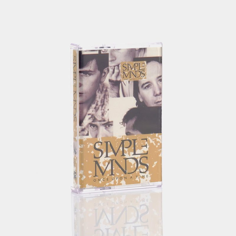 Simple Minds - Once Upon A Time (1985) Cassette Tape