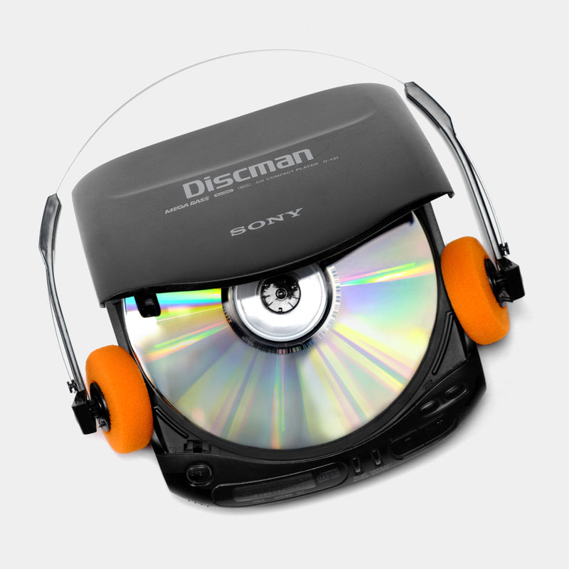 Sony Discman D-131 Portable CD Player