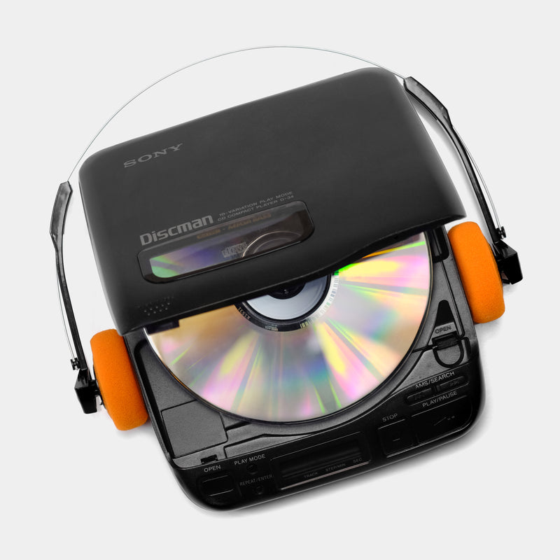 Sony Discman D-34 Portable CD Player