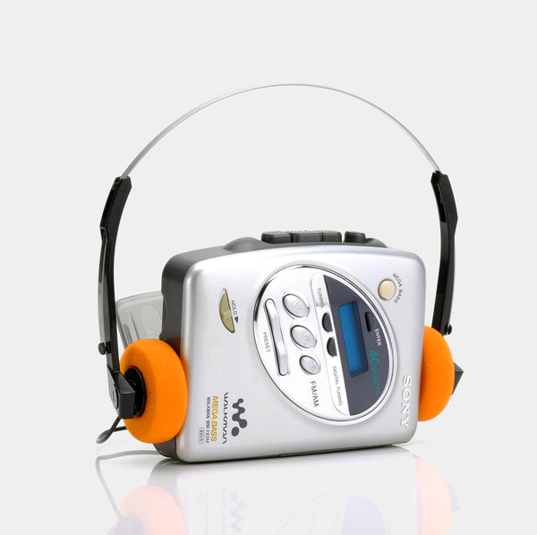 Sony Walkman WM-FX244 AM/FM Portable Cassette Player