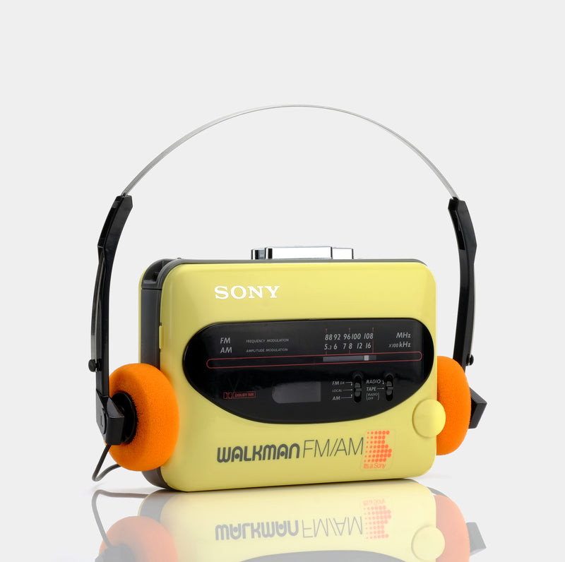 Sony Walkman WM-F68 AM/FM Portable Cassette Player