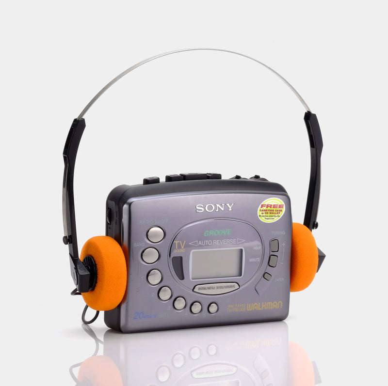 Sony Walkman Groove WM-FX463 Portable Cassette Player
