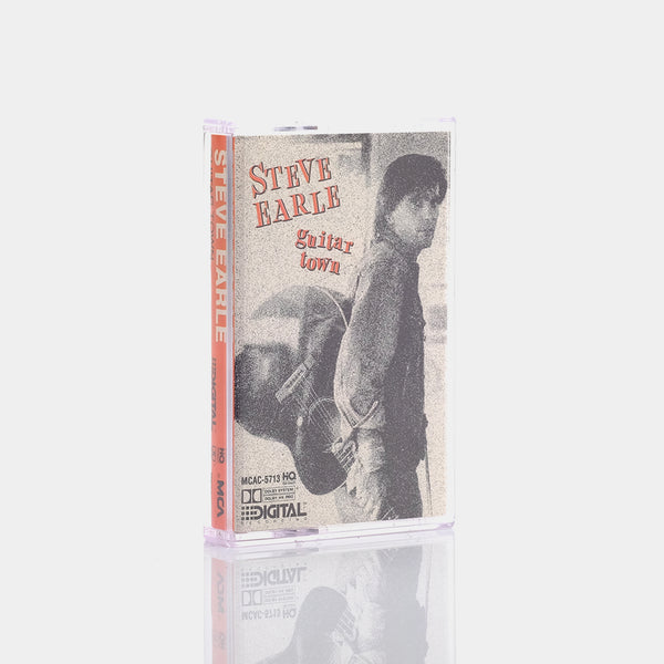 Steve Earle - Guitar Town (1986) Cassette Tape