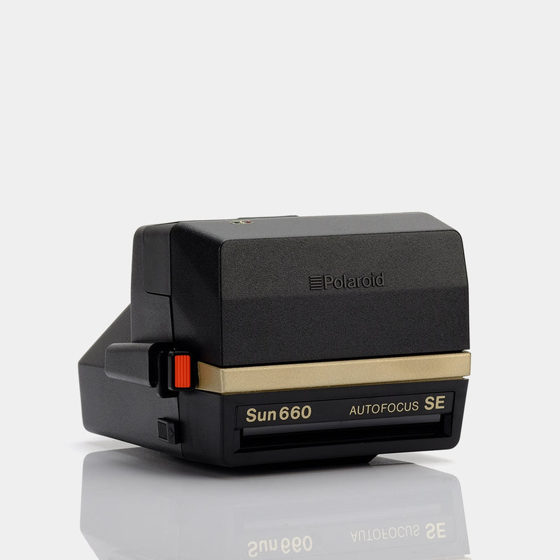 Polaroid Sun 660 SE 50th Anniversary Gold Edition 600 Camera