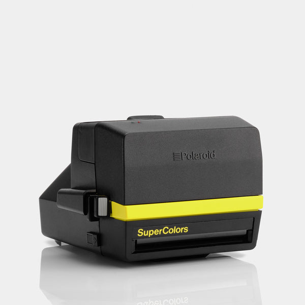 Polaroid 600 SuperColors Yellow Instant Film Camera