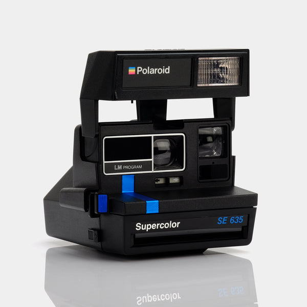 Polaroid 600 Supercolor SE 635 Instant Film Camera