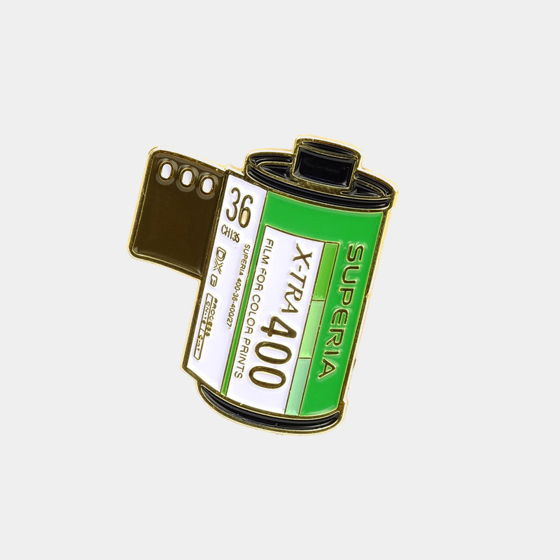 Superia X-Tra 400 Enamel Pin