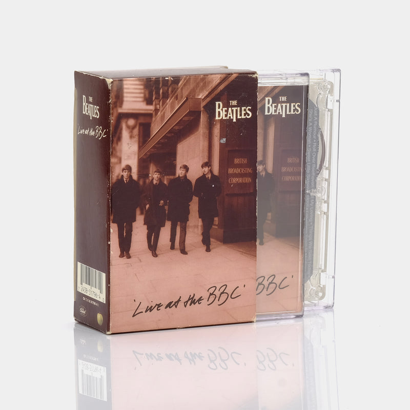 The Beatles - Live at the BBC (1994) Cassette Tape