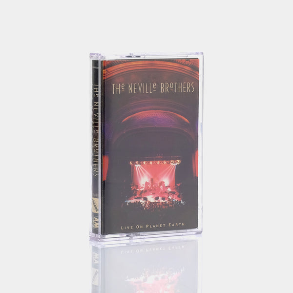 The Neville Brothers - Live On Planet Earth (1994) Cassette Tape