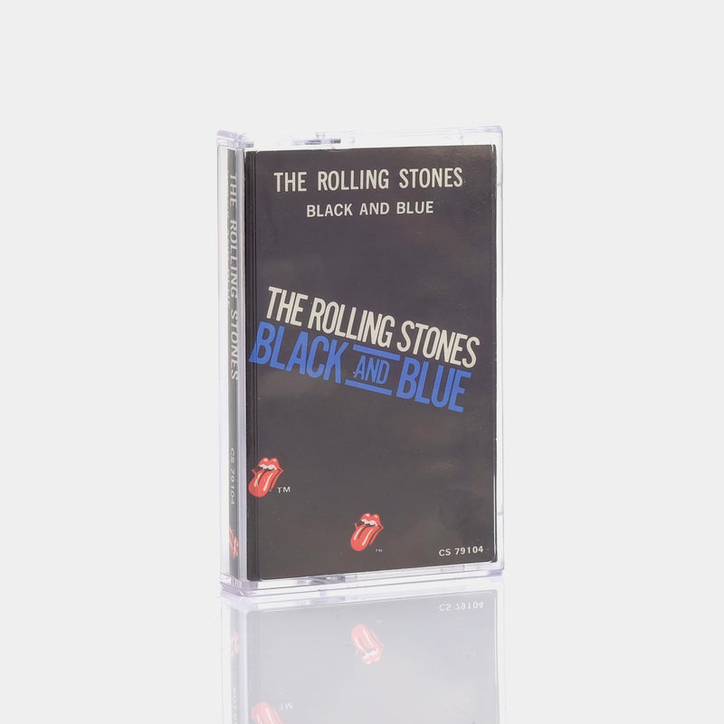The Rolling Stones - Black and Blue (1976) Cassette Tape