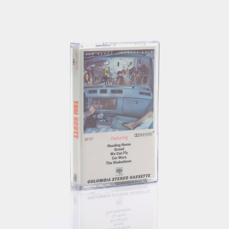 Tom Scott - Street Beat (1979) Cassette Tape