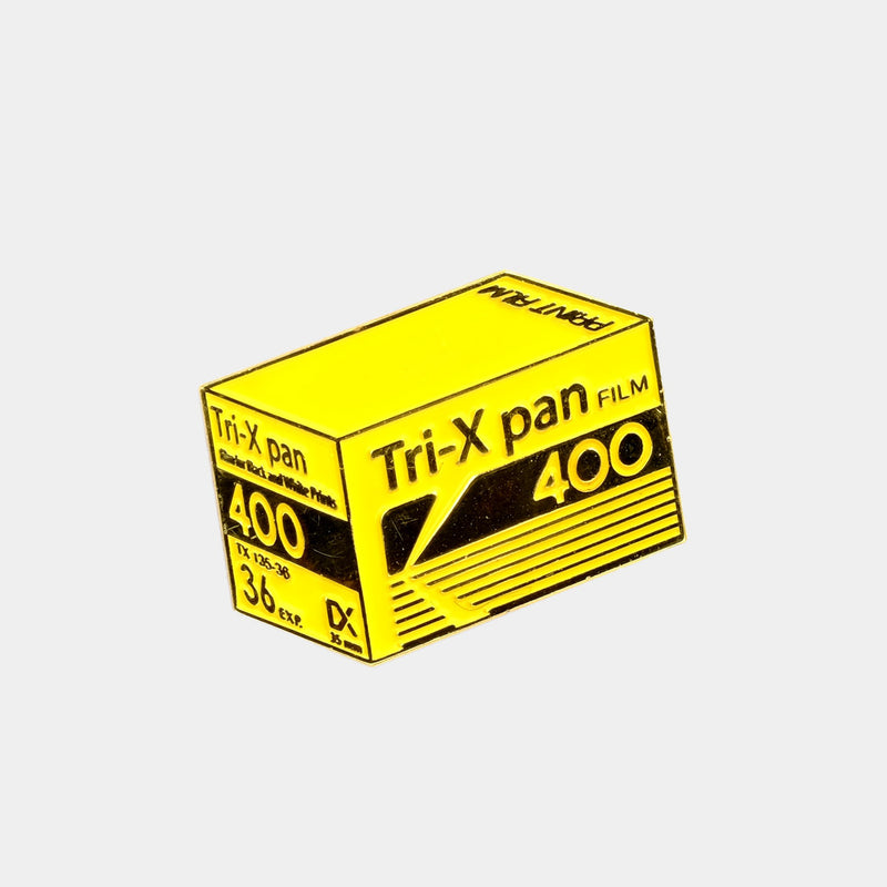 Kodak Tri-X Pan 400 Box Enamel Pin
