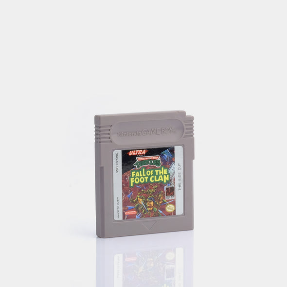 Teenage Mutant Ninja Turtles - Fall of the Foot Clan Game Boy Game