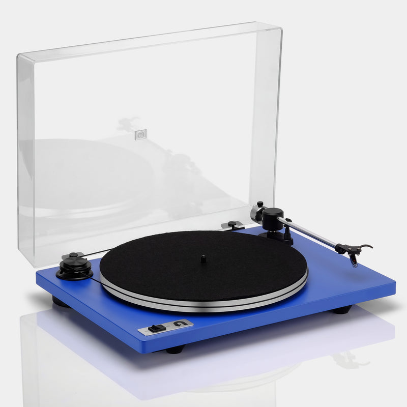 Orbit Plus Blue Turntable with Built-in Preamp