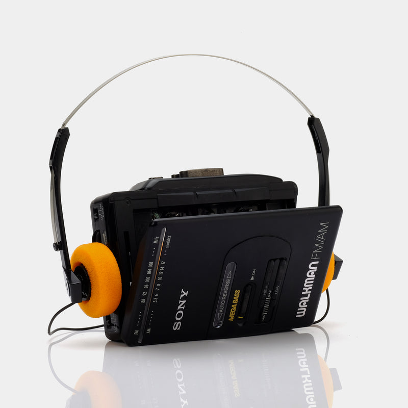 Sony Walkman WM-F2065/F2068 AM/FM Portable Cassette Player