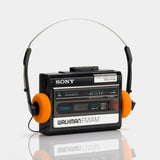 Sony Walkman WM-F44 Portable Cassette Player