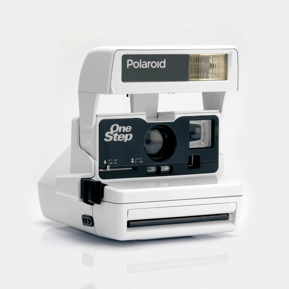 Polaroid White 600 Camera