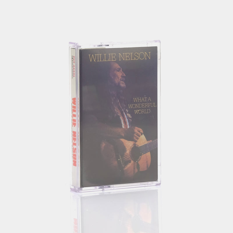 Willie Nelson - What A Wonderful World (1988) Cassette Tape