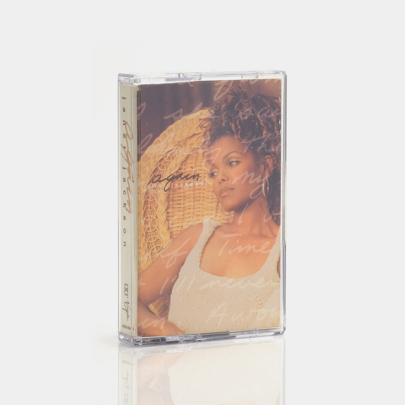Janet Jackson - Again (1993) Cassette Tape Single