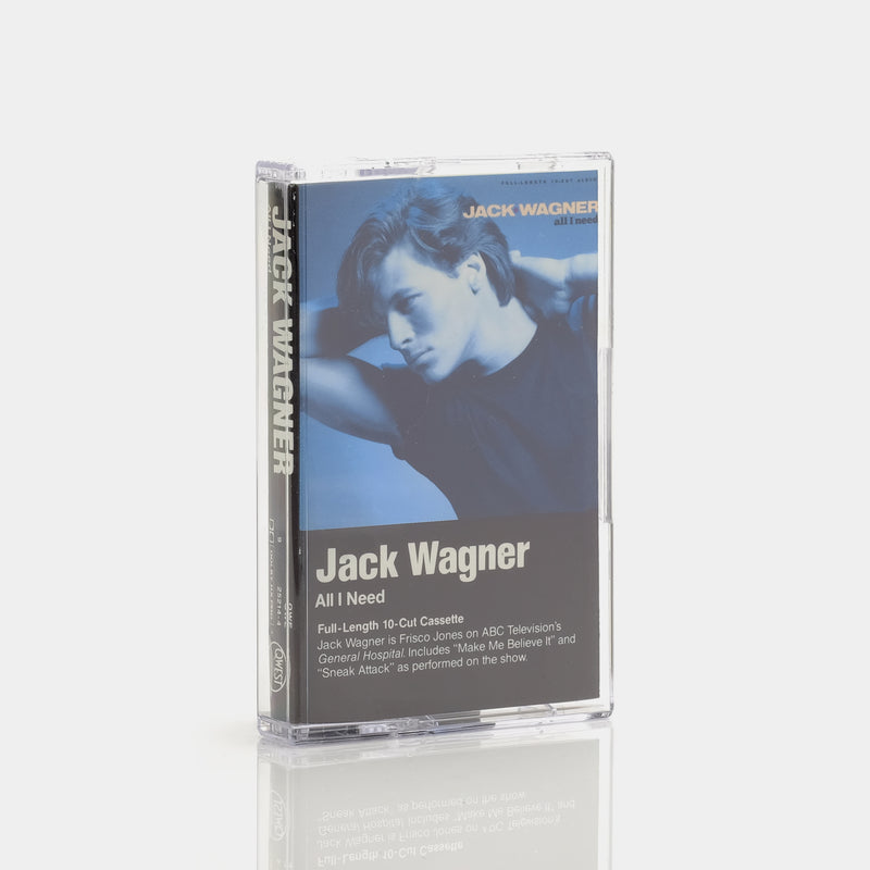 Jack Wagner - All I Need (1984) Cassette Tape