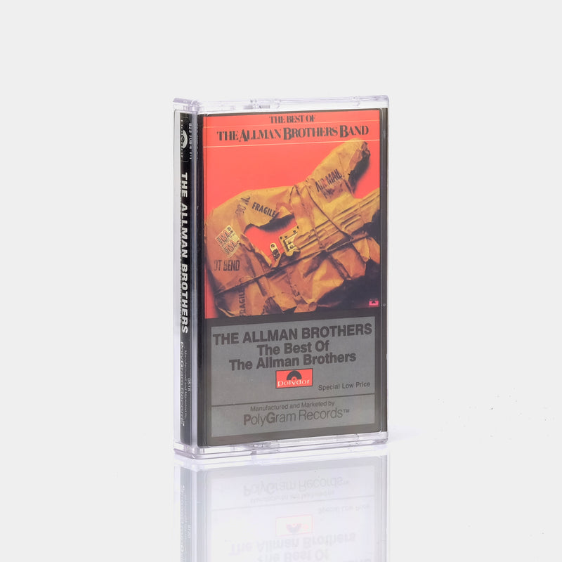 The Allman Brothers - The Best Of The Allman Brothers (1981) Cassette Tape