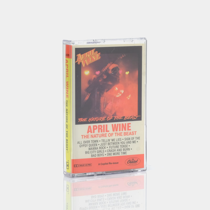 April Wine - The Nature Of The Beast (1981) Cassette Tape