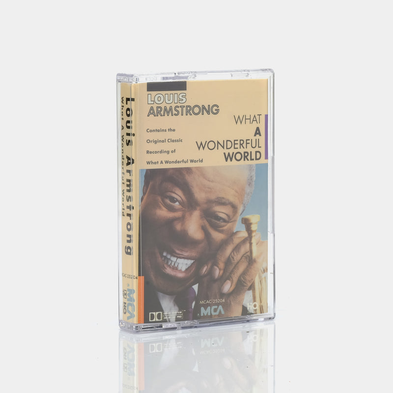 Louis Armstrong - What A Wonderful World (1968) Cassette Tape