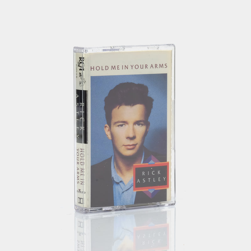 Rick Astley - Hold Me In Your Arms (1988) Cassette Tape