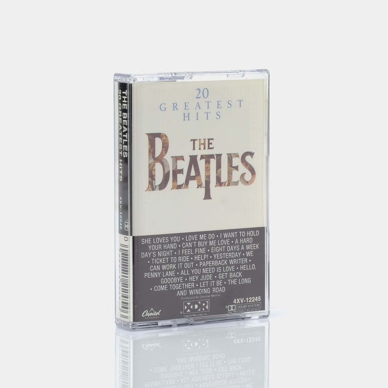 The Beatles - 20 Greatest Hits (1982) Cassette Tape