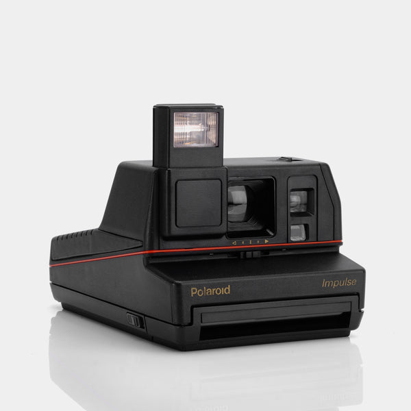 Polaroid 600 Impulse Anthracite Black Instant Film Camera
