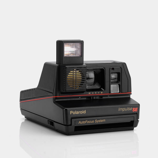 Polaroid 600 Impulse AutoFocus Anthracite Black Instant Film Camera