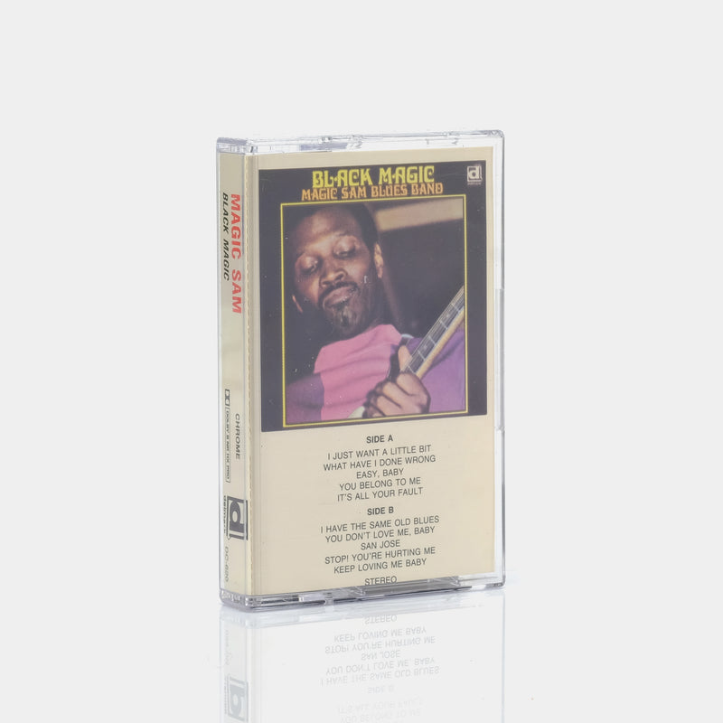 Magic Sam Blues Band - Black Magic (1969) Cassette Tape